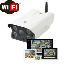 IP CAMERA P2P TELECAMERA WIRELESS WIFI LED IR INFRAROSSI IPCAM ESTERNO SD HD