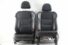 Acura RDX Front Seat Black Left/Driver Right/Passenger Leather Set OEM A878