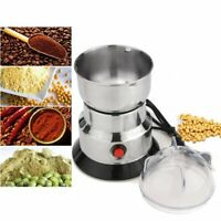 Electric Spices/Nuts/ Coffee Bean Mill Blade Grinder With Stainless Steel Blades