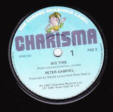 PETER GABRIEL (NZ 45 '87)  BIG TIME / CURTAINS - NEW ZEALAND (?) - CHARISMA