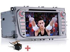 """Rückfahrkamera+ 7"""" Autoradio Navi MP3 DVD GPS WIFI Für Ford Mondeo Transit C-Max"""
