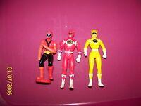 Power Rangers Mcdonalds : figure lot