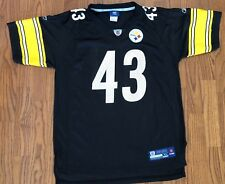 Pittsburgh Steelers Troy Polamalu #43 Reebok On Field Jersey Youth XL 18 20