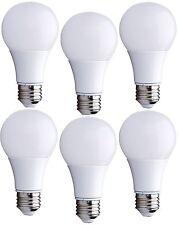 LED Light Bulbs E26A19 Warm White2700K 6W(60W Equivalent) Kitchen Bedroom 6PACKS