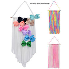 Girls Kids Cute Hair Bows Holder Hanger Hair Clips Storage Organizer Home Decor