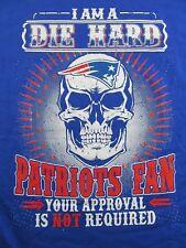 I Am A Diehard New England Patriots Fan.Souvenir T Shirt Size M (Nwot)
