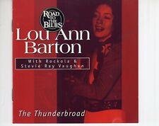 CD LOU ANN BARTONthe thunderbroad1999 EX (A4114)