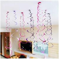 "12 Hanging 27"" Swirls Party Decorations Wedding Birthday Christening Baby Shower"