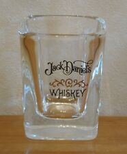 Jack Daniel's Whisky Small Square Shot Glass Pub Home Bar Whiskey Daniels