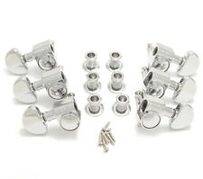Grover Chrome 18:1 Ratio Rotomatic Tuners for Gibson®/Epiphone® Guitar 102-18C