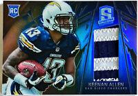 2013 Spectra Keenan Allen Blue Patch RC #'d 14/49 Chargers Cal Golden Bears #217