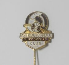 ARSENAL FC  - VINTAGE SUPPORTERS CLUB STICKPIN BADGE