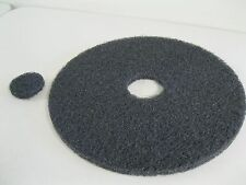"Norton Floor Burnisher Machine 17"" Stripping Black Pad Disc~Cleaning~ 00004000 Buffer~Usa"