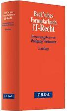Beck'sches Formularbuch IT-Recht (2012, Gebundene Ausgabe)