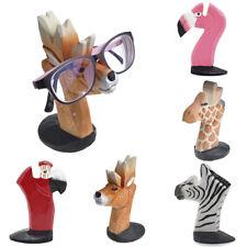 Animal Head Glasses Holder Stand For Sunglasses Eyeglass 3D Wood Carving Rack