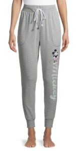 NEW Mickey Mouse Jogger Pajama Pants Womens Small 4-6 ~ XL Extra Large 16-18 ~