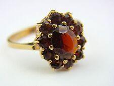 schöner alter Granat Ring Gold 333/-