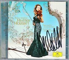 Anne-Sophie MUTTER Signed MOZART Violin Concerto 1-5 Sin Concertante BASHMET 2CD
