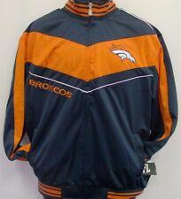 Denver Broncos NFL Adult Front Zip Track Jacket - Adult Small Free Ship