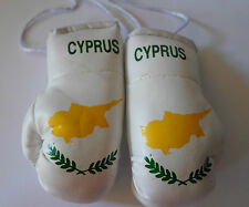 Cyprus Flag/Cypriot/Cyprus mini boxing gloves for your car mirror-Get the best.