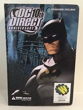 DC DIRECT 10th ANNIVERSARY BATMAN 2008 SDCC CONVENTION EXCLUSIVE ACTION FIGURE