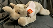 "New With Tags Aurora Super Flopsie 27"" Ellie the Elephant"