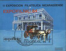 Nicaragua Blocco 160 (completa Edizione) usato 1984 EXPOFILNIC `84
