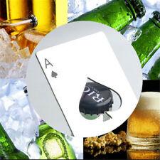 Poke Card Bar Bottle Opener Kitchen Bar Wine Bottle Open Stainless Steel 1 PCS