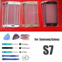 Front Screen Glass Lens Replacement & Repair Tools Kits For Samsung Galaxy S7