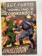 Sgt Fury and His Howling Commandos #29 1966 7.5 High Grade Beauty!!!