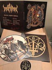 "Deiphago - Satan Alpha Omega 12"" PIC LP DIE HARD Beherit Morbosidad Proclamation"