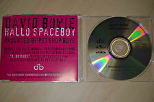 David Bowie - Hallo Spaceboy (Remixed). CD-Single promo (CP1707)