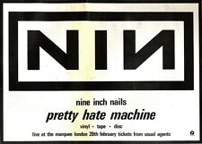 23/2/91 Pgn07 Advert: pretty Hate Machine By Nine Inch Nails On Island 11x15