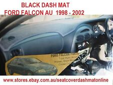 DASH MAT,BLACK DASHMAT, DASHBOARD COVER FIT FORD FALCON AU 1998 - 2002, BLACK