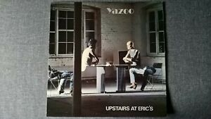 YAZOO - UPSTAIRS AT ERIC'S .             LP.