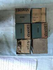 Mazda Ediswan PEN46 x3. NOS vacuum tubes. Original packaging.