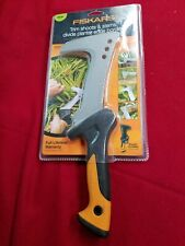 Fiskars Forged Steel Clearing BillHook 7 inch Blade Shealth Included NEW