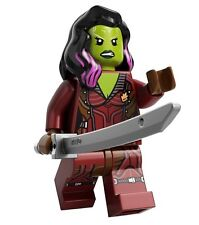 LEGO Marvel Guardians of the GAMORA Minifigure w/ Sword 76021 New