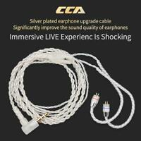 Universal CCA 100 Core 4 Strands Headset Line for HIFI C10 C16 Earphones