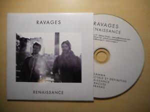 RAVAGES : RENAISSANCE (2018) [ CD EP ]