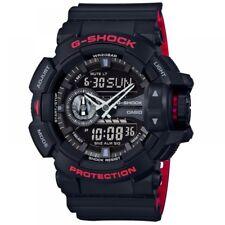 Casio Ga-400hr-1aer Mens G-shock World Time Black Combi Watch