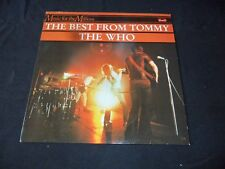 LP  The Who  The Best From Tommy   Netherlands  Polydor