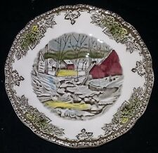 "Johnson Bros. The Friendly Village - Saucer - The Ice House - 5 1/2"" Dia"