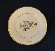 Lenox 2016 Annual Holiday Accent Collector Plate First Quality New W/Tag Perfect