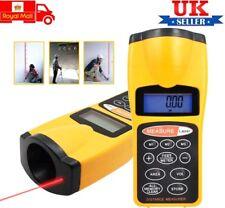 Medidor de Distancia Láser Digital telémetro Medir Diastimeter cinta de ultrasonidos