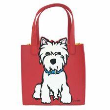 Marc Tetro Saffiano Small Tote Bag Handbag (Westie,Dashund)