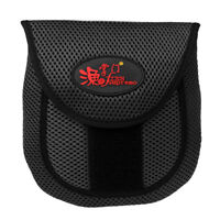 Spinning and Casting Reel Cover Protective Case Durable Fishing Bag Black