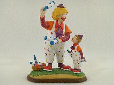 "Danbury Mint - Barnum's Classic Circus Clowns ""The Juggling Lesson"" Figurine"