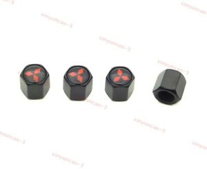 1set Car Wheel Tires Air Valve Cap Tyre Stem Exterior Accessories for Mitsubishi