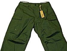 NWT DIESEL Mens Size 29W Green Paynal Pantaloni Cargo Pants $228 MSR 100% Cotton